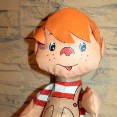 Bonecas Espanholas Modernas: ANTIGUO MUÑECO HINCHABLE DE DANIEL EL TRAVIESO - 40CM - AÑOS 70. Lote 218953500