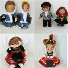 Muñecas Españolas Modernas: LOTE MUÑECOS ANTIGUOS. Lote 220703645