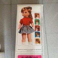 Muñecas Españolas Modernas: CAJA VACÍA DE MUÑECA TRESSY DE NOVO GAMA DE LOS AÑOS 60. Lote 220947360