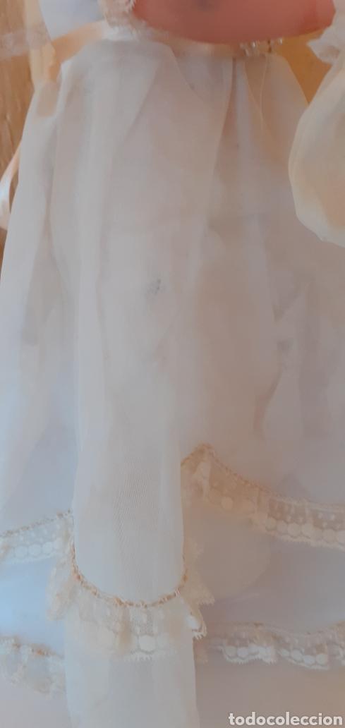 Muñecas Españolas Modernas: PRECIOSA MUÑECA COMUNION MIDE SOBRE LOS 47CM CREO QUE DE LOS AÑOS 60 - Foto 11 - 221452363