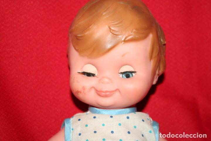 Muñecas Españolas Modernas: muñeco bebe pelo dibujado - Foto 2 - 221897152