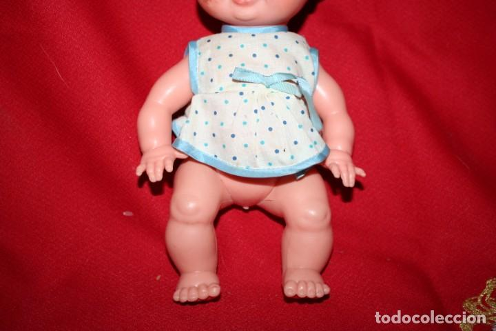 Muñecas Españolas Modernas: muñeco bebe pelo dibujado - Foto 3 - 221897152