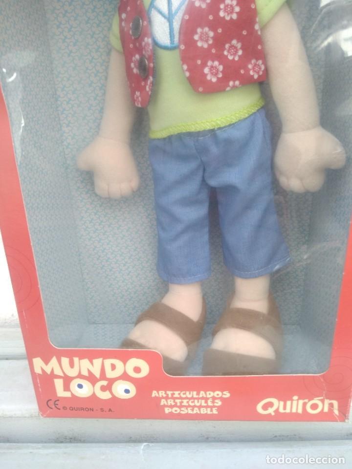 Muñecas Españolas Modernas: Muñeca mundo loco de quiron articulada - Foto 3 - 221928298