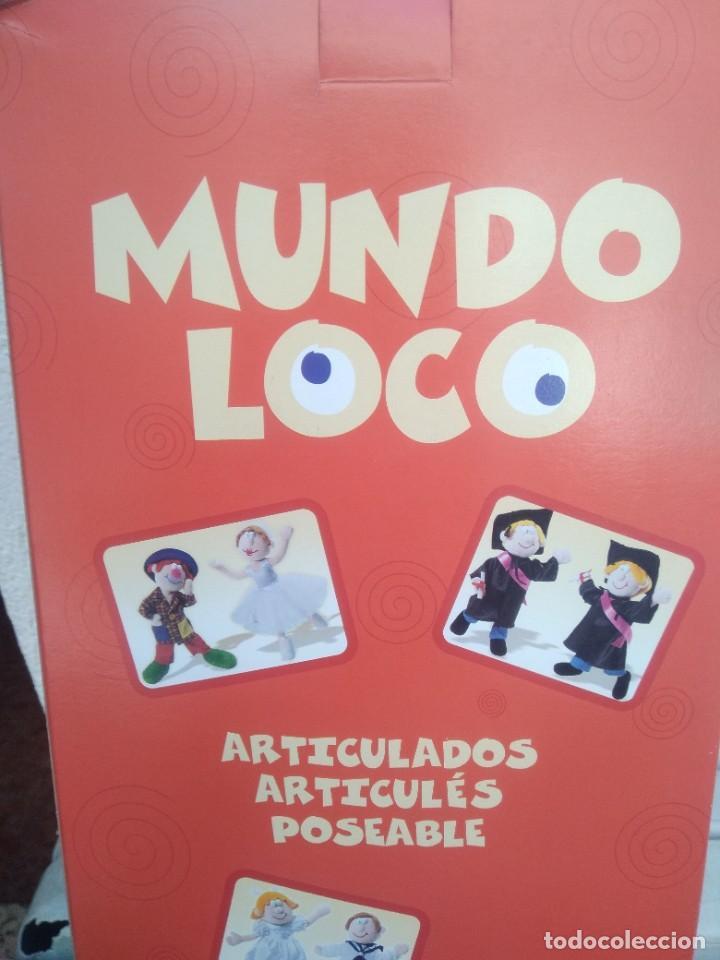 Muñecas Españolas Modernas: Muñeca mundo loco de quiron articulada - Foto 5 - 221928741