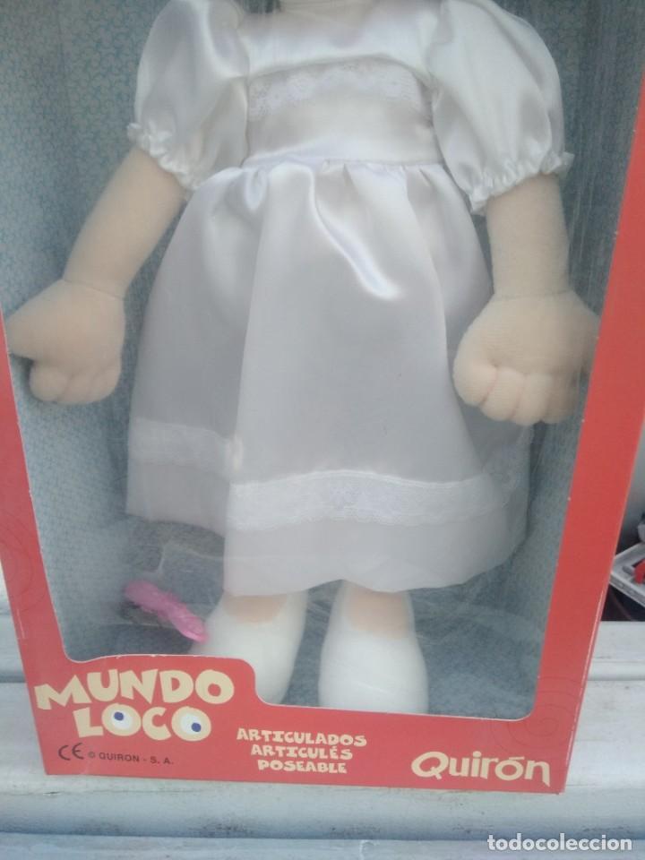 Muñecas Españolas Modernas: Muñeca mundo loco de quiron articulada - Foto 3 - 221928977