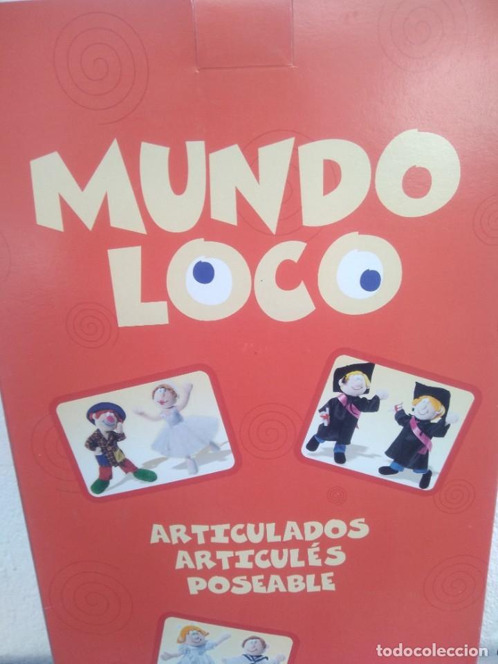 Muñecas Españolas Modernas: Muñeca mundo loco de quiron articulada - Foto 5 - 221928977