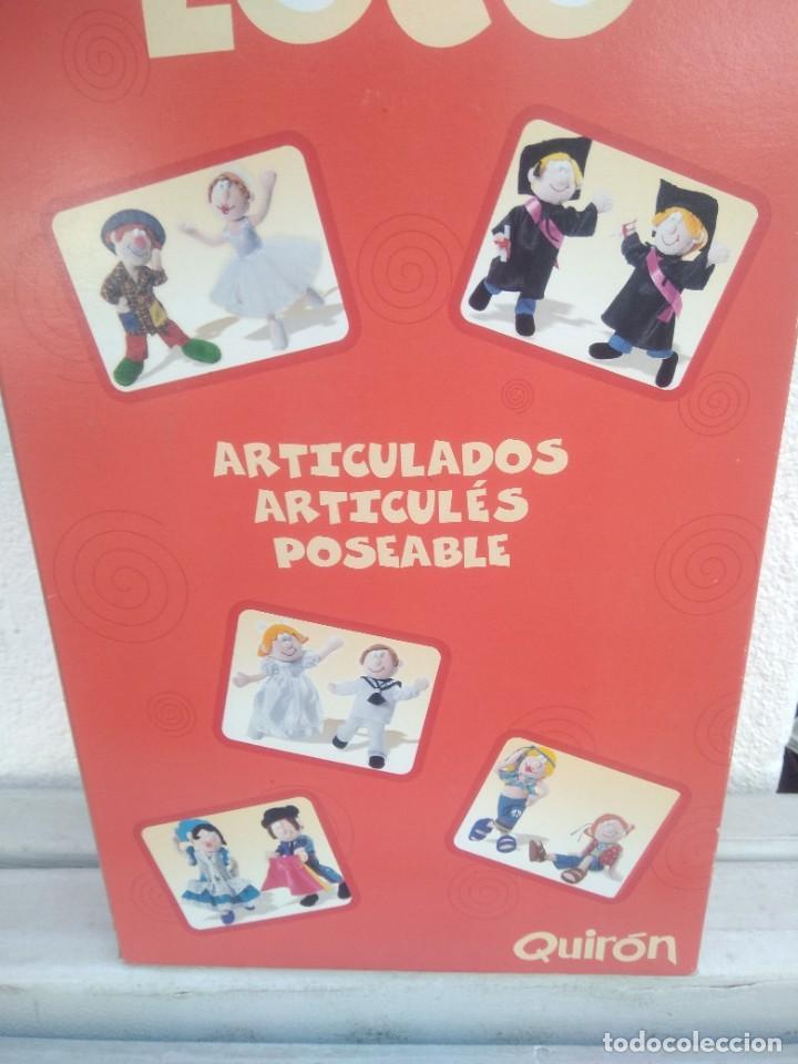 Muñecas Españolas Modernas: Muñeca mundo loco de quiron articulada - Foto 6 - 221928977