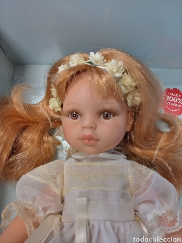 Muñecas Españolas Modernas: Muñeca Paola Reina Comunion. Nunca ha salido de la caja. Precioso vestido. - Foto 2 - 222031098