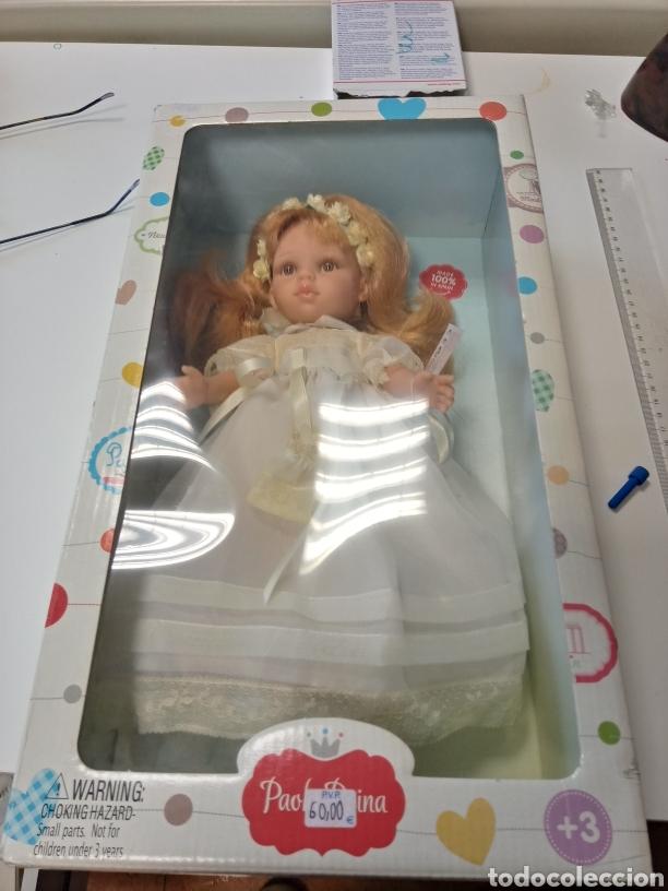 Muñecas Españolas Modernas: Muñeca Paola Reina Comunion. Nunca ha salido de la caja. Precioso vestido. - Foto 6 - 222031098