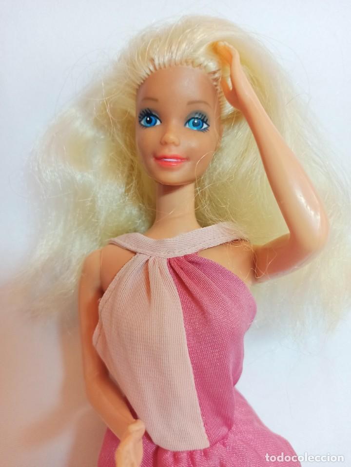 Muñecas Españolas Modernas: Muñeca Coleccion Nº618 Barbie Vestido antiguo Etiqueta Blanca SPAIN - Foto 2 - 222492217