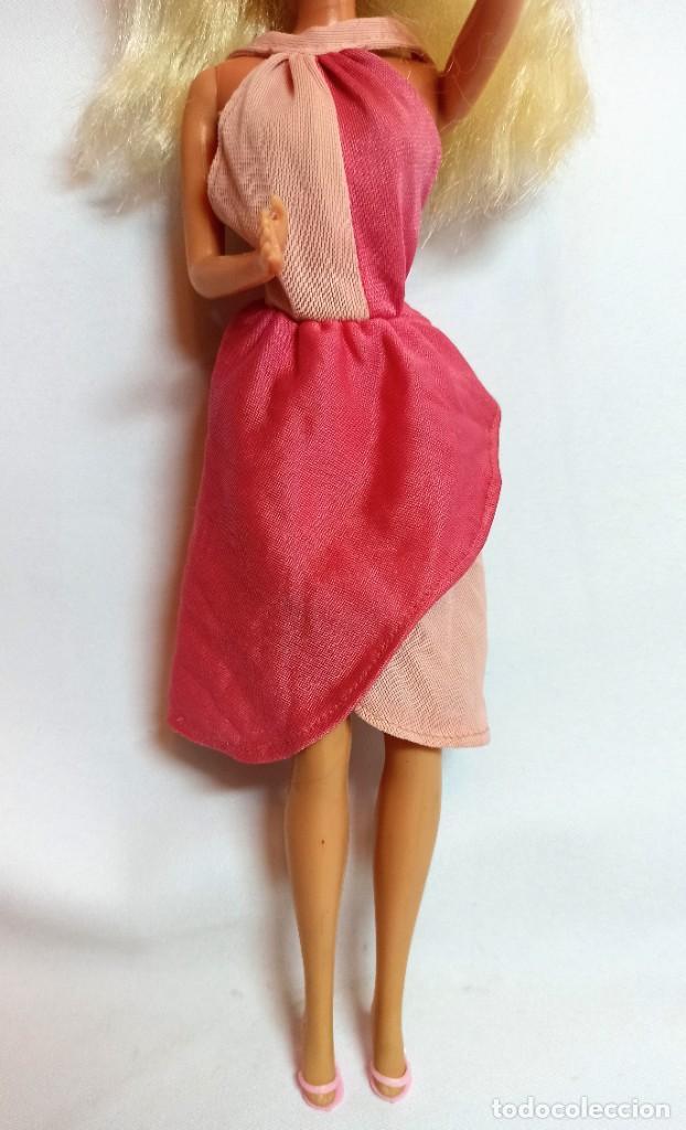 Muñecas Españolas Modernas: Muñeca Coleccion Nº618 Barbie Vestido antiguo Etiqueta Blanca SPAIN - Foto 4 - 222492217