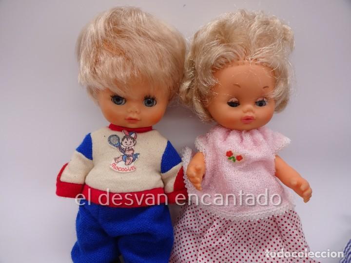 Muñecas Españolas Modernas: MOCOSIN de TOYSE. Lote ds muñecos y varios accesorios y ropa - Foto 2 - 222779821