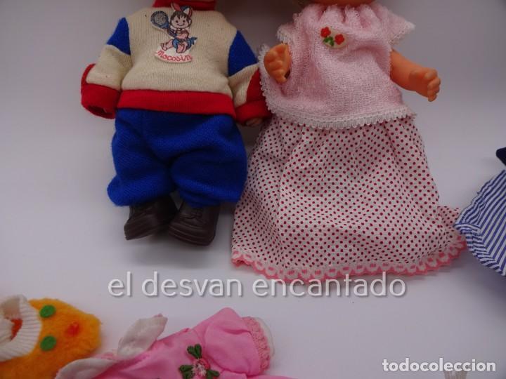 Muñecas Españolas Modernas: MOCOSIN de TOYSE. Lote ds muñecos y varios accesorios y ropa - Foto 3 - 222779821