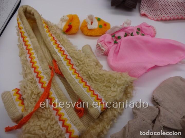 Muñecas Españolas Modernas: MOCOSIN de TOYSE. Lote ds muñecos y varios accesorios y ropa - Foto 4 - 222779821