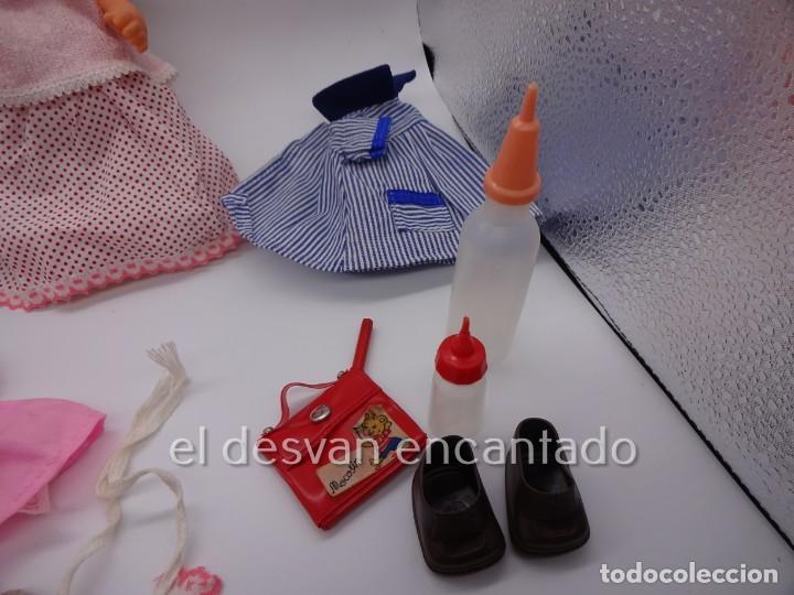 Muñecas Españolas Modernas: MOCOSIN de TOYSE. Lote ds muñecos y varios accesorios y ropa - Foto 7 - 222779821