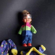 Muñecas Españolas Modernas: MUÑECA POCAS PECAS NIÑO FEBER AÑOS 80. Lote 223019697