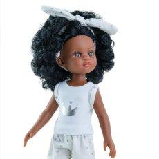 Bambole Spagnole Moderne: NORA DE LAS AMIGAS EN PIJAMA DE PAOLA REINA 32 CM.. Lote 223288308