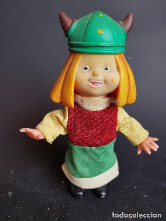 MUÑECO VICKIE WICKIE EL VIKINGO A CUERDA FEBER (Juguetes - Otras Muñecas Españolas Modernas)