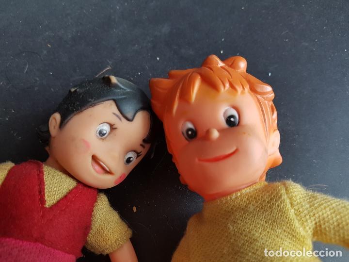 Muñecas Españolas Modernas: muñecos heidi y pedro a cuerda muñeca y muñeco - Foto 2 - 223850981