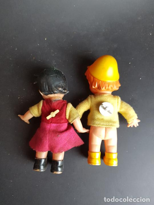 Muñecas Españolas Modernas: muñecos heidi y pedro a cuerda muñeca y muñeco - Foto 3 - 223850981