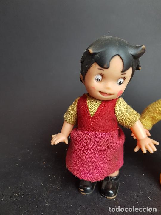Muñecas Españolas Modernas: muñecos heidi y pedro a cuerda muñeca y muñeco - Foto 5 - 223850981