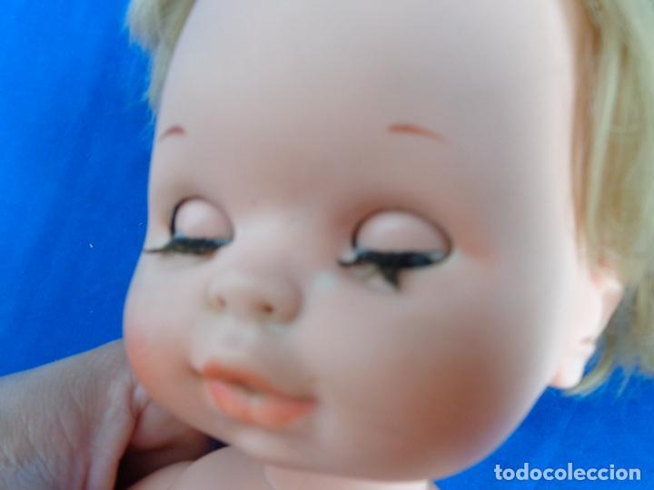 Muñecas Españolas Modernas: TOYSE - ANTIGUO MUÑECO BABY MOCOSETE VER FOTOS! SM - Foto 3 - 224857310