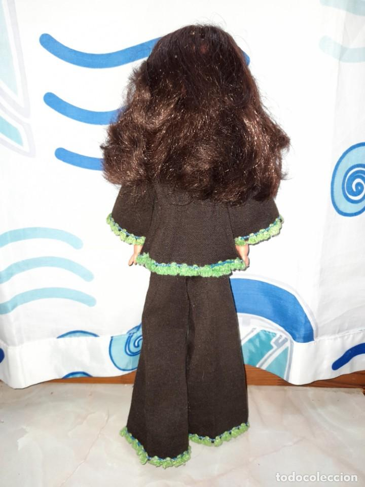Muñecas Españolas Modernas: muñeca fanny de vicma años 70 castaña reflejos caoba oscuro en muy buen estado - Foto 3 - 224945458