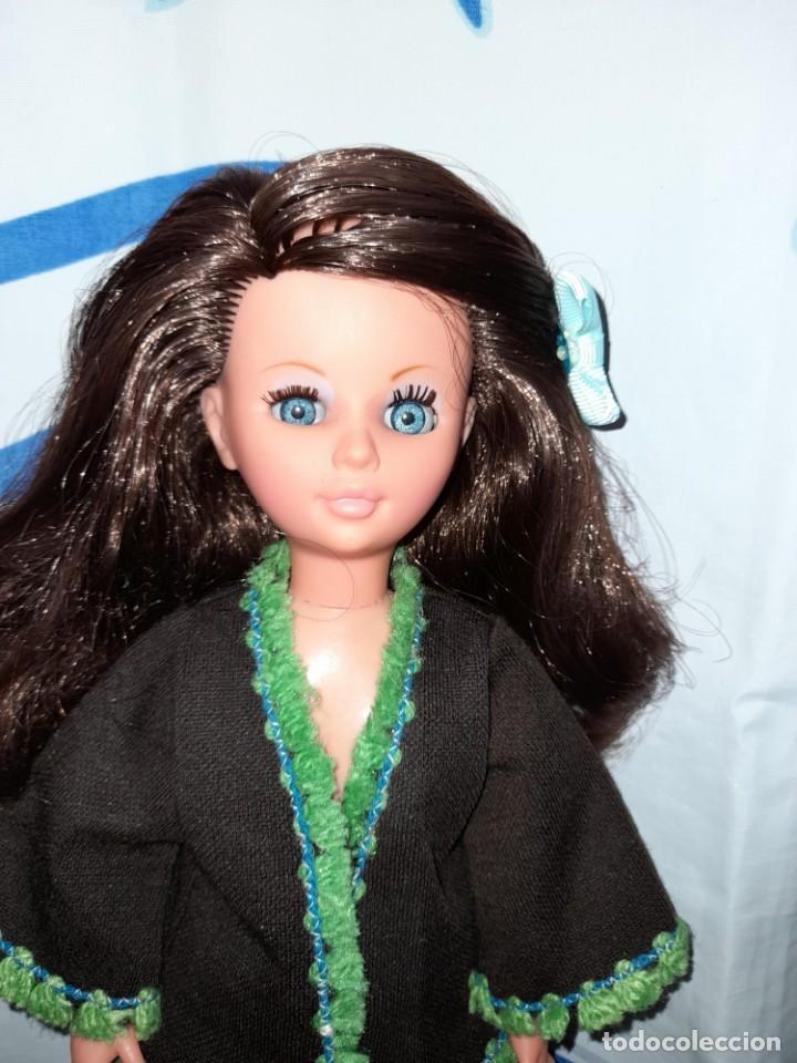 Muñecas Españolas Modernas: muñeca fanny de vicma años 70 castaña reflejos caoba oscuro en muy buen estado - Foto 4 - 224945458