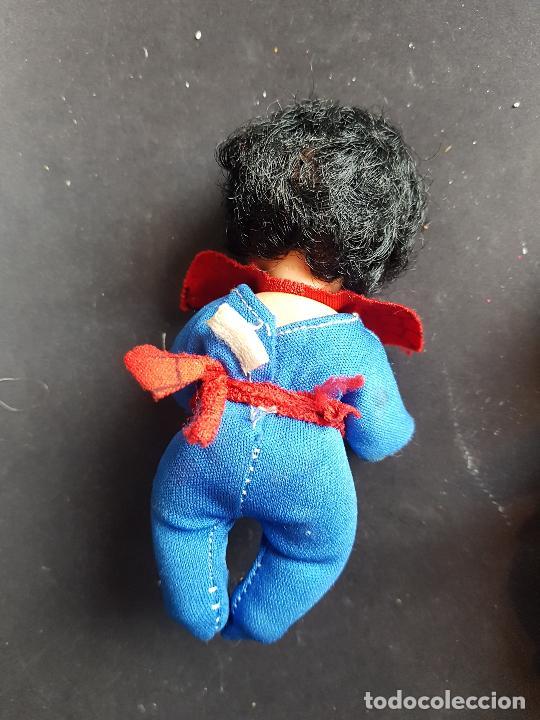 Muñecas Españolas Modernas: lote 2 muñeco baberin de muñecas bb negrito i spiderman - Foto 2 - 225626855