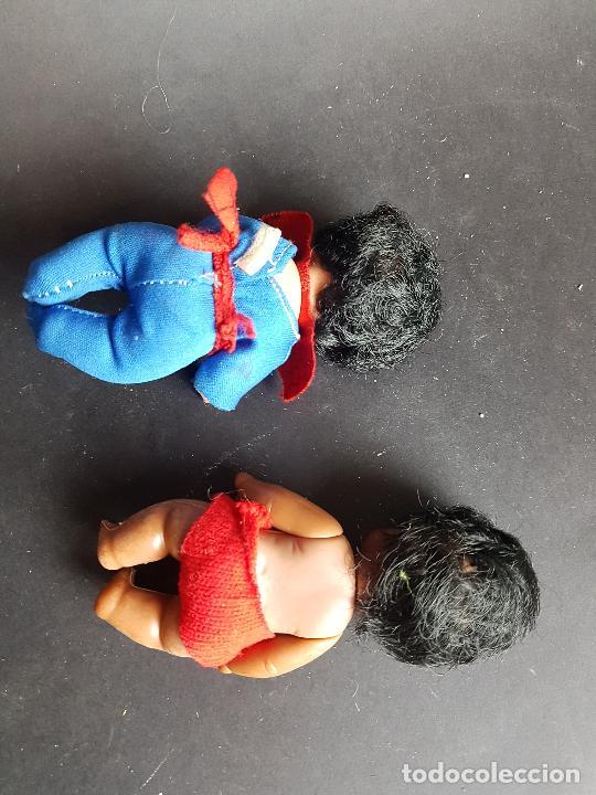 Muñecas Españolas Modernas: lote 2 muñeco baberin de muñecas bb negrito i spiderman - Foto 4 - 225626855