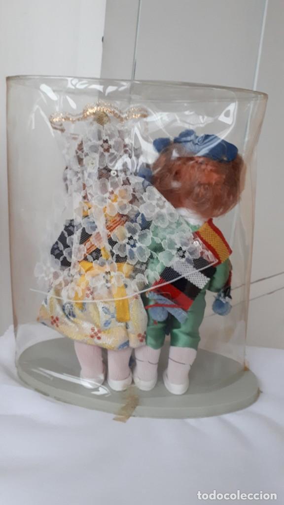 Muñecas Españolas Modernas: PAREJA DE MUÑECOS REGIONALES VALENCIANOS EN SU CAJA AÑOS 70 - Foto 3 - 230289075