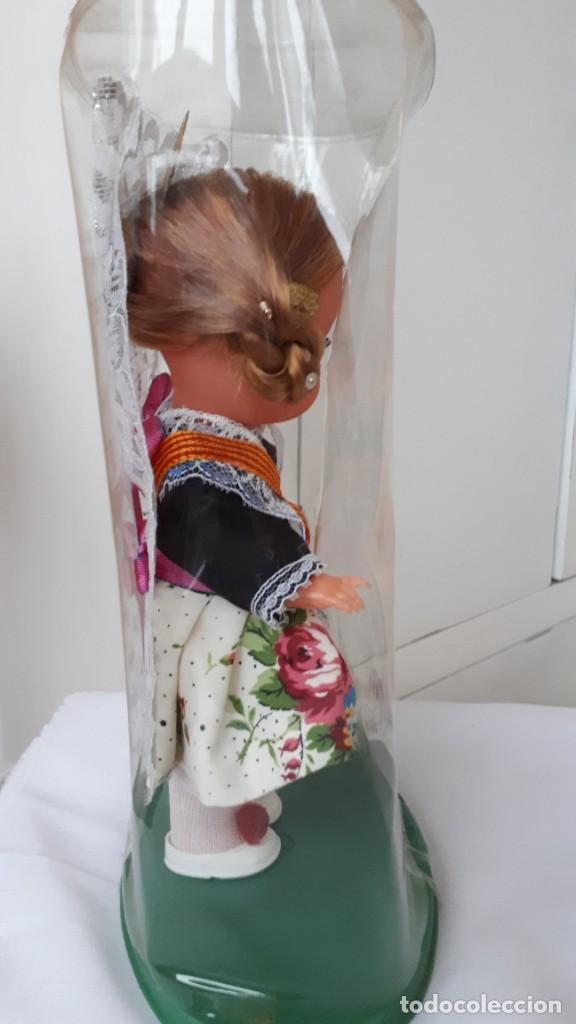 Muñecas Españolas Modernas: MUÑECA REGIONAL VALENCIANA AÑOS 70 EN SU CAJA - Foto 3 - 230289670