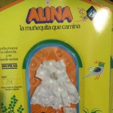 Muñecas Españolas Modernas: VESTIDO PARA MUÑECA ALINA. Lote 235285125