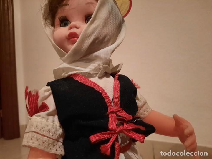 Muñecas Españolas Modernas: Muñeca con Traje Típico Canario, Traje de Maga - Foto 4 - 236469435