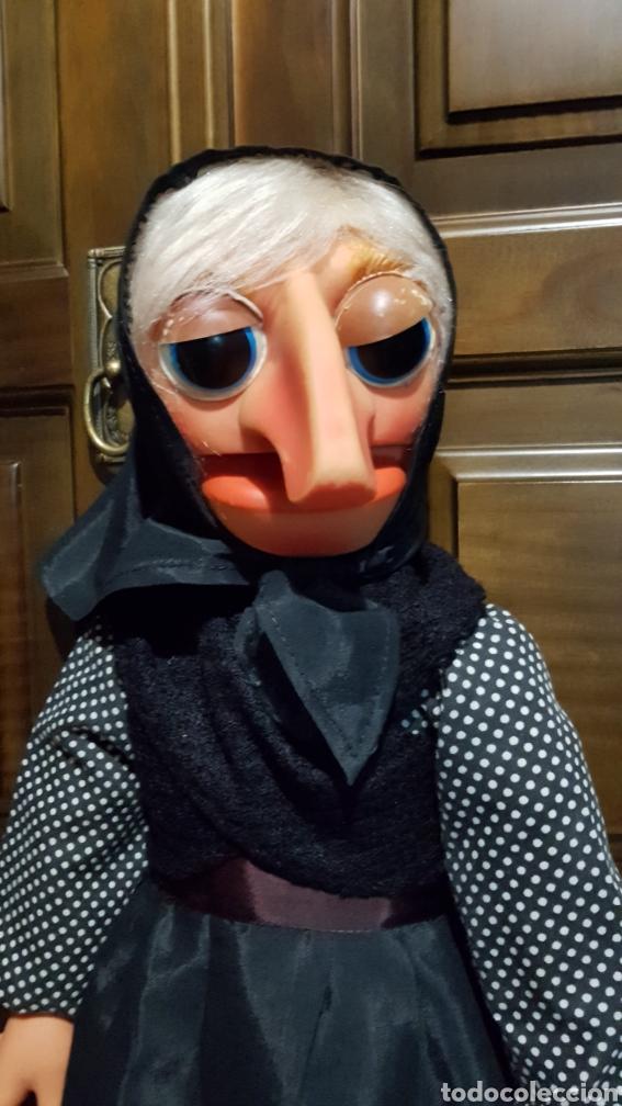 Muñecas Españolas Modernas: ANTIGUA MARIONETA DE DOÑA ROGELIA FABRICADA POR VICMA COMPELTA Y EXCELENTE ESTADO - Foto 4 - 237112430