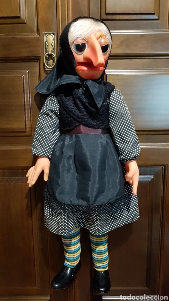 Muñecas Españolas Modernas: ANTIGUA MARIONETA DE DOÑA ROGELIA FABRICADA POR VICMA COMPELTA Y EXCELENTE ESTADO - Foto 5 - 237112430