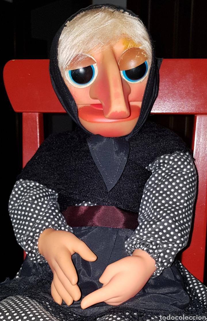Muñecas Españolas Modernas: ANTIGUA MARIONETA DE DOÑA ROGELIA FABRICADA POR VICMA COMPELTA Y EXCELENTE ESTADO - Foto 6 - 237112430