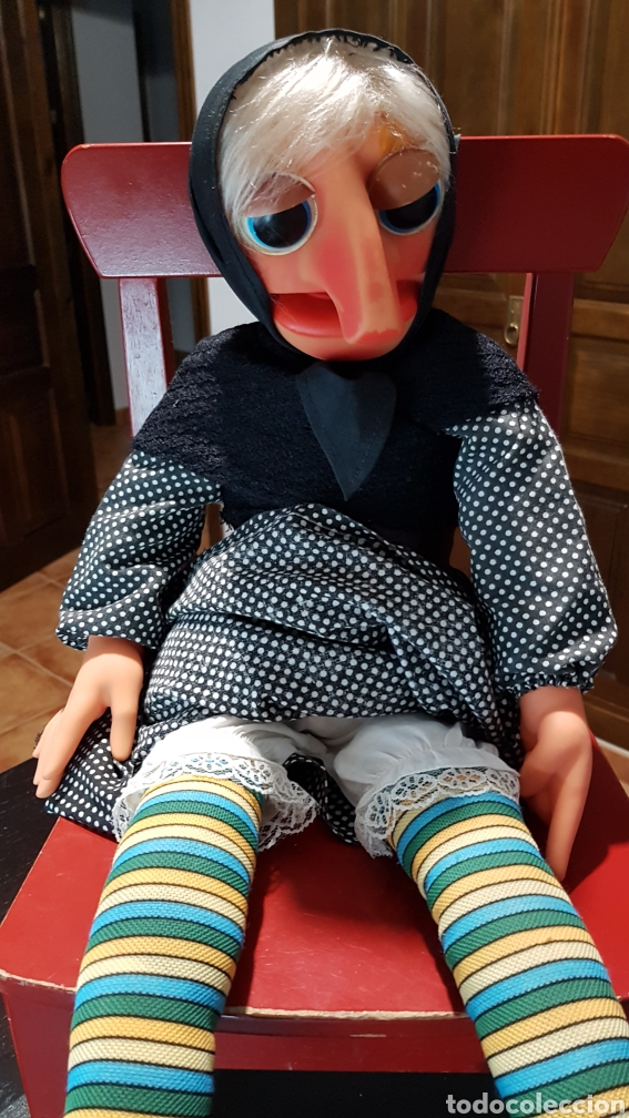 Muñecas Españolas Modernas: ANTIGUA MARIONETA DE DOÑA ROGELIA FABRICADA POR VICMA COMPELTA Y EXCELENTE ESTADO - Foto 8 - 237112430