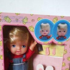 Bonecas Espanholas Modernas: MUÑECA LLANTITOS (30 CM) FUNCIONA SIN PILAS.BANDAI 80S.NUEVA EN CAJA.. Lote 239757080