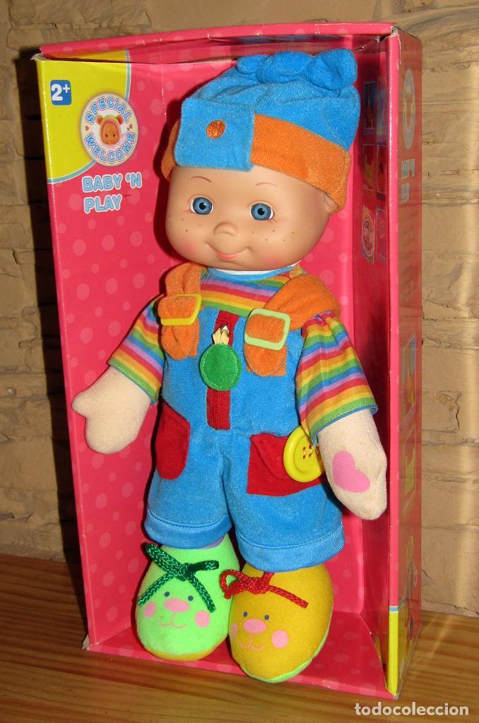 MUÑECO BABY N PLAY SPECIAL WELCOME - NUEVO A ESTRENAR Y EN SU CAJA ORIGINAL - 38CM (Juguetes - Otras Muñecas Españolas Modernas)