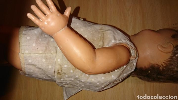 Muñecas Españolas Modernas: Antigua muñeca, de 45 cm, con mecanismo, desconozco - Foto 4 - 244409345