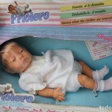 Muñecas Españolas Modernas: MUÑECO FRIOLERO DE BERJUSA, EN CAJA, TALLA ( 46 CM APROX,). Lote 247005695