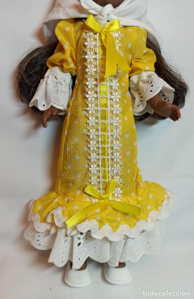 Muñecas Españolas Modernas: Muñeca Kika CHULAPA molde de nancy antigua - Foto 4 - 252108215