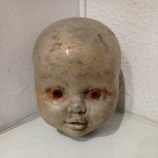 Muñecas Españolas Modernas: ANTIGUO MOLDE DE CABEZA DE MUÑECA O MUÑECO BABY FEBER, FAMOSA. HECHO DE NÍQUEL.. Lote 252557280