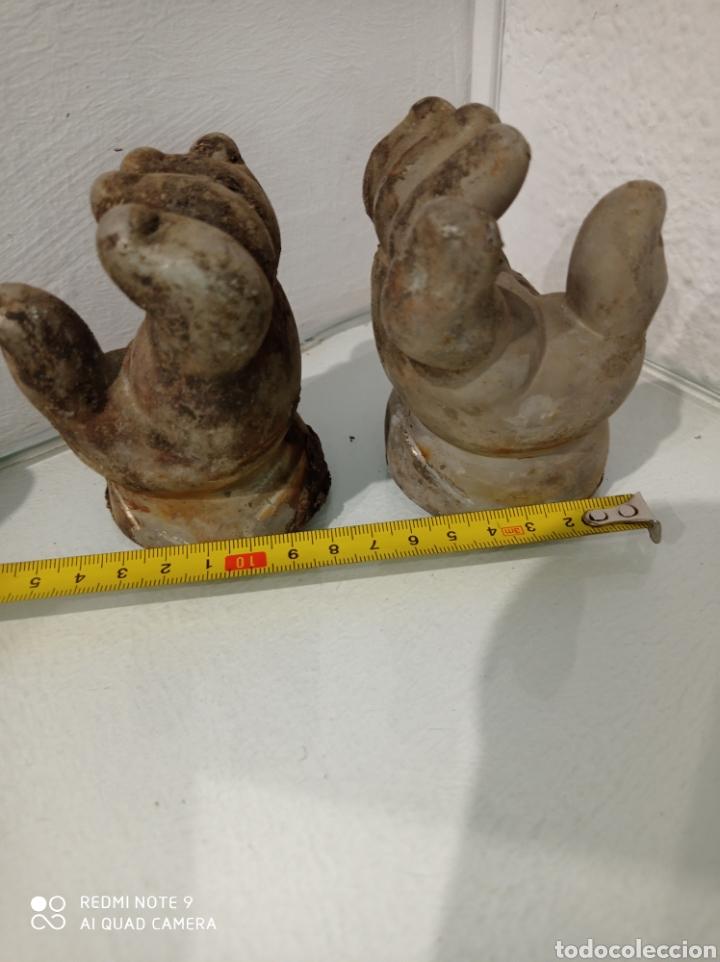 Muñecas Españolas Modernas: Antiguo molde de níquel de manos de muñeca pocas pecas de Feber, Famosa. año 1992. - Foto 6 - 252562815