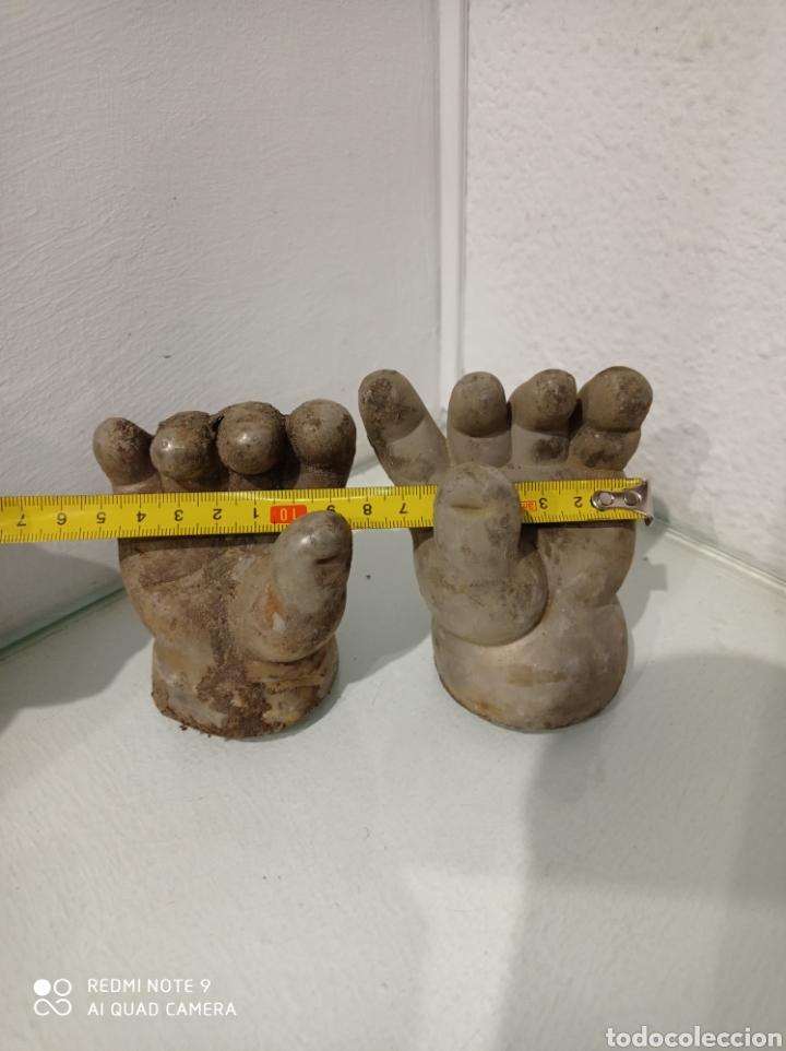 Muñecas Españolas Modernas: Antiguo molde de níquel de manos de muñeca pocas pecas de Feber, Famosa. año 1992. - Foto 7 - 252562815