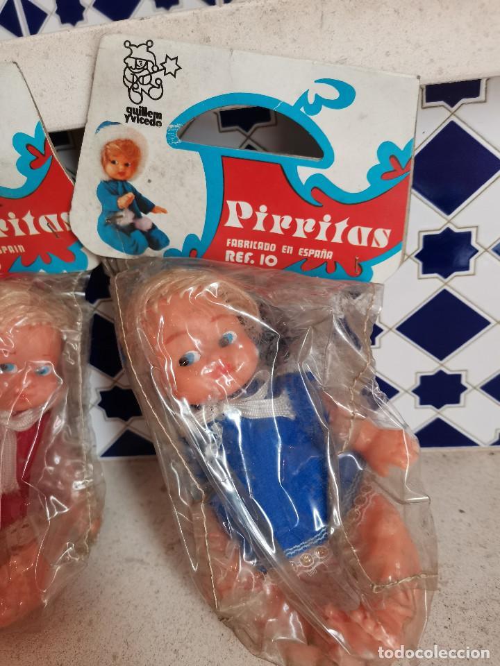 Muñecas Españolas Modernas: LAS TRILLIZAS PIRRITAS MUÑECAS MUÑECOS GUILLEM YVICEDO ORIGINAL AÑOS 80 REF. 10 - Foto 4 - 253476200