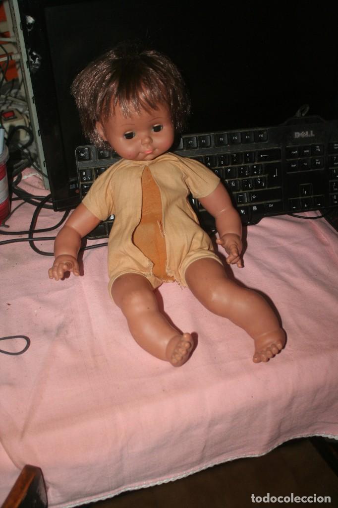 Muñecas Españolas Modernas: antiguo muñeco de goma espuma mulato - Foto 2 - 254193355