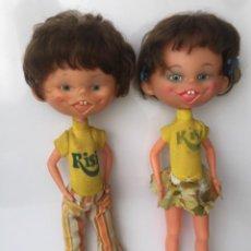 Muñecas Españolas Modernas: MUÑECO Y MUÑECA RISI.. Lote 255395595