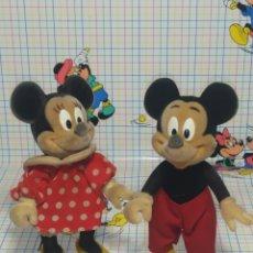 Muñecas Españolas Modernas: PRECIOSA PAREJA MICKEY Y MINNIE ANTIGUOS. Lote 258151040
